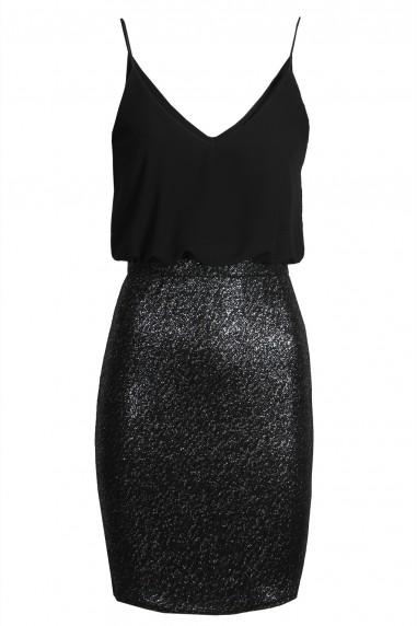 TFNC Annia Black Cami Dress