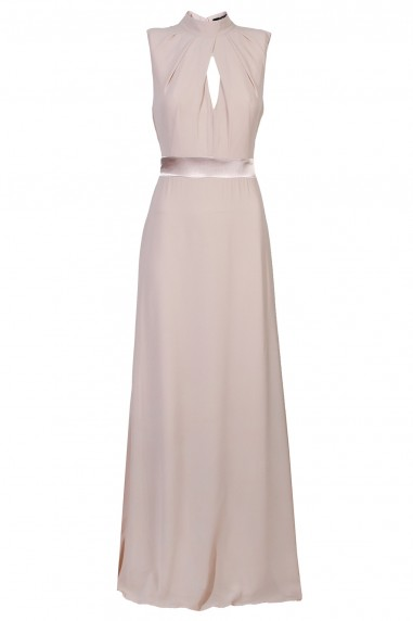 TFNC Kandi Taupe Maxi Dress