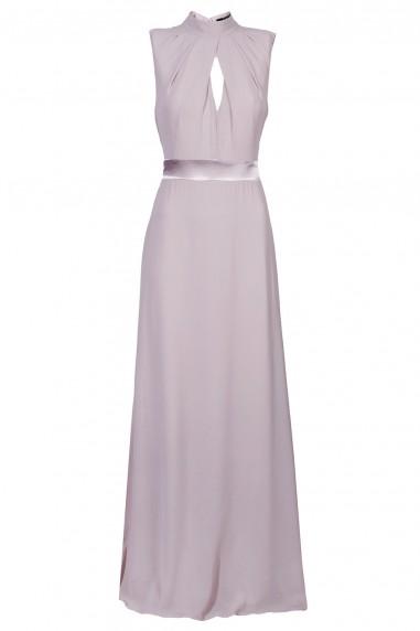 TFNC Kandi Grey Maxi Dress