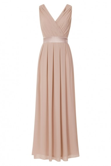 TFNC Kily Whisper Pink Maxi Dress