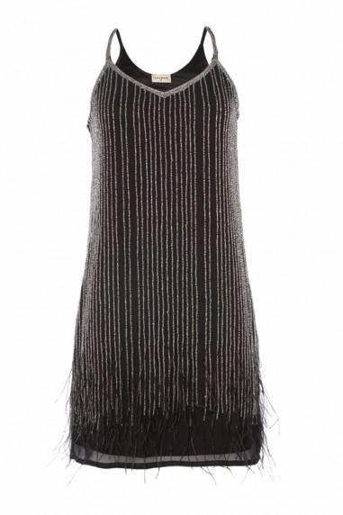 Lace & Beads Texas Black Embellished Dress