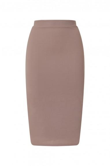 TFNC Rika Grey Midi Skirt