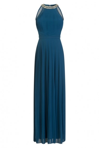 TFNC Rosie Teal Maxi Dress