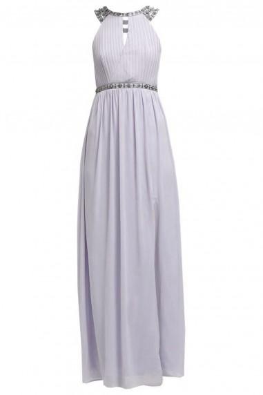 TFNC Rio Mauve Maxi Embellished Dress