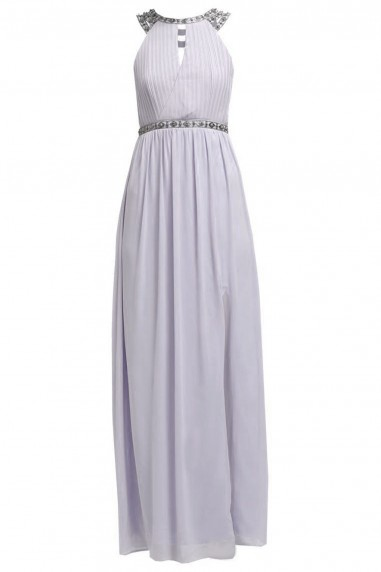 TFNC Rio Mauve Maxi Embellished Dress