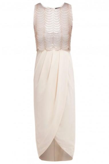 TFNC Brenna Midi Pink Dress
