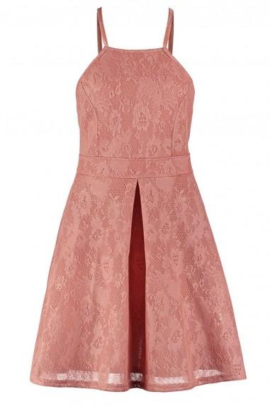 TFNC Nellya Blush Dress