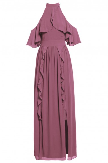 TFNC Bailey Pink Maxi Dress