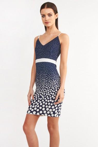 TFNC Omega Navy Cami Dress