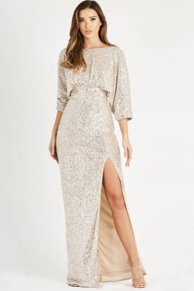TFNC Jia Sequin Maxi Dress