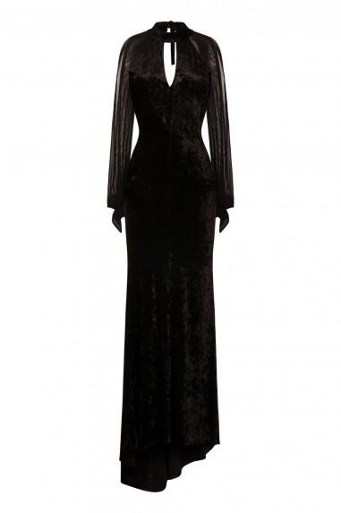 TFNC Nesley Black Maxi Dress