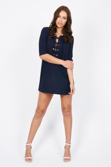 TFNC Carly Navy Dress
