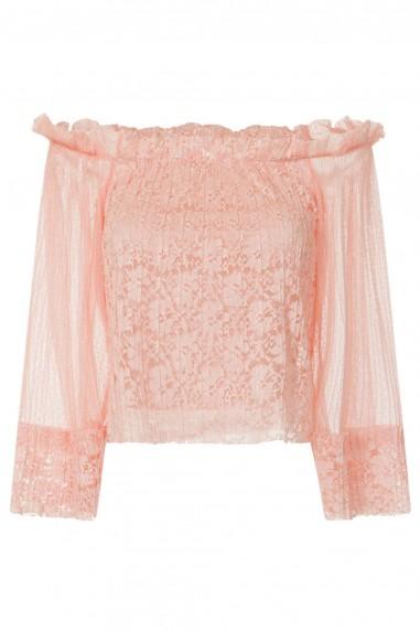 TFNC Elina Pink Top
