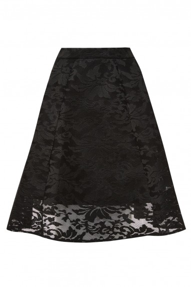 TFNC Katy Black Skirt