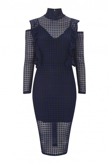 TFNC Lizea Navy Dress