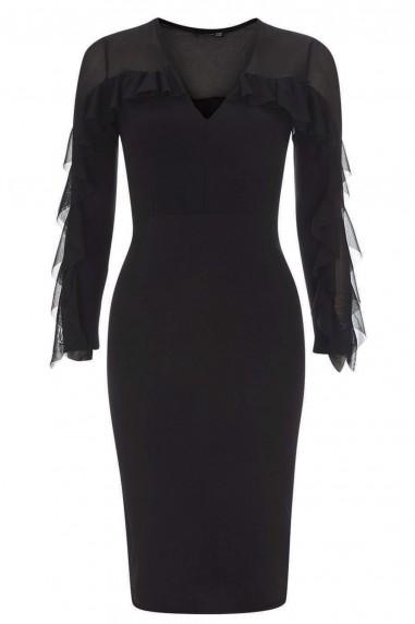TFNC Beth Black Dress