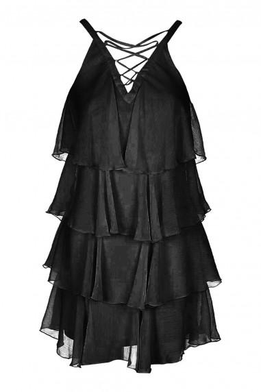 TFNC Bonita Black Dress