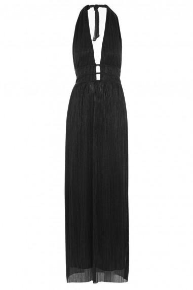 TFNC Evelyn Black Maxi Dress