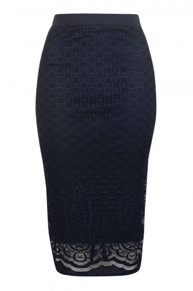 TFNC Lee Lee Navy Skirt