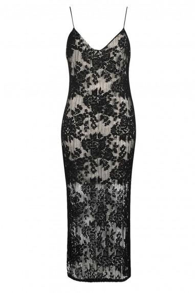 TFNC Minna Black Dress