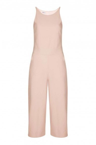 WalG Culottes Nude Jumpsuit