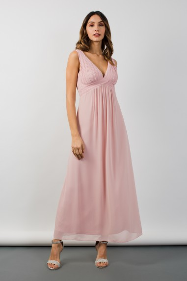 TFNC Valerie Pearl Pink Maxi Dress