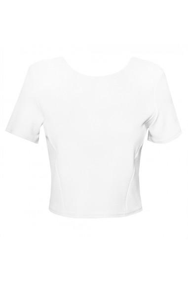 TFNC Reda White Crop Top
