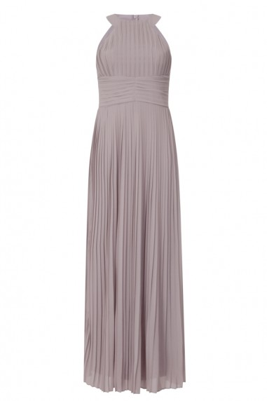 TFNC Yasmin Grey Maxi Dress