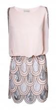 Lace & Beads Sharon Angela Pink Embellished Dress