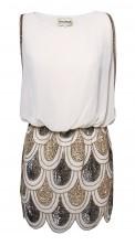 Lace & Beads Sharon Angela Nude Embellished Dress