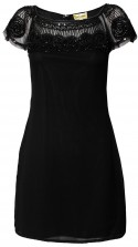 Lace & Beads Merilyn Black Embellished Dress