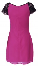 Lace & Beads Maralyn Pink Embellished Dress