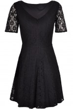TFNC Joanna Lace Fit and Flare Dress