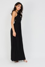 TFNC Telsa Black Maxi Dress