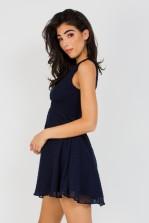 TFNC Babette Navy Mini Dress