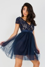 TFNC Macen Navy Mini Dress