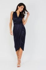 TFNC Multi Way Navy Midi Dress
