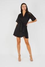 TFNC Aziza Black Mini Dress