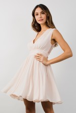 TFNC Perry Nude Midi Dress