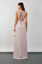 TFNC Nais Mink Maxi Dress