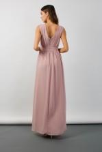 TFNC Debby Pale Mauve Maxi Dress