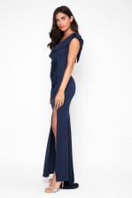 TFNC Zula Navy Maxi Dress
