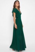 TFNC Priya Jade Green Maxi Dress