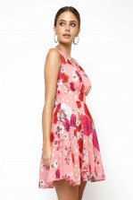 TFNC Nordi Pink Floral Mini Dress