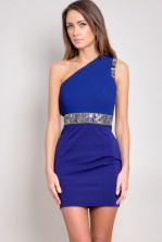 TFNC Daba One Shoulder Dress