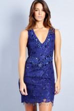 TFNC Vivianne Lace Embellished Dress