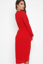 TFNC Gweno Red Midi Dress