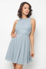 Lace & Beads Junko Light Blue Dress