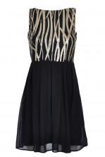 TFNC Sarah Flame Sequin Dress