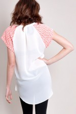 TFNC Cotton Textured Hi-Lo Shirt